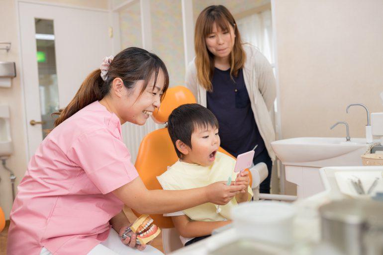専任担当制の予防歯科