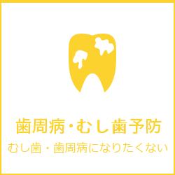 歯周病・むし歯予防